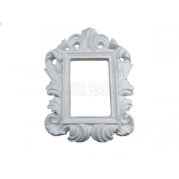 LLM-021 - Moldura com Espelho - Retangular com Arabesco