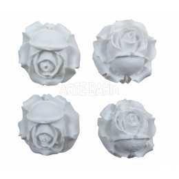 Botões de Rosas - LLA048 -4 unidades