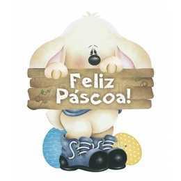 APMP8-044 - Páscoa - Coelho com Placa