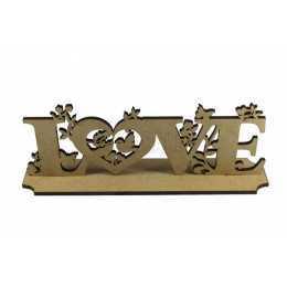 Palavra - Love com Base - Laser