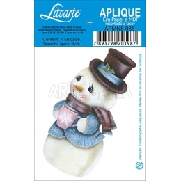APMN8-085-Natal - Boneco de Neve