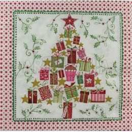 Árvore de Natal Feitas de Caixinhas de Presente (280)