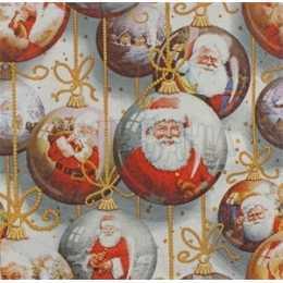 Bolas de Natal Penduradas com Papai Noel (251)