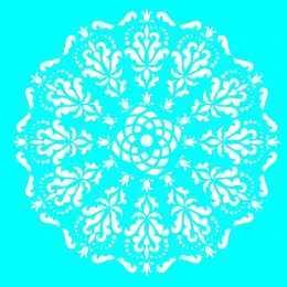 LSQ072 - Mandala - 20x20cm