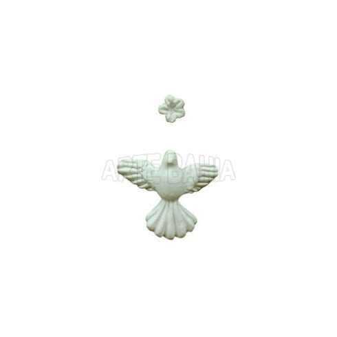 Divino - 3x2,8cm - Micro com Flor