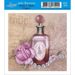 AFX379 - Vidro de Perfume Rosa