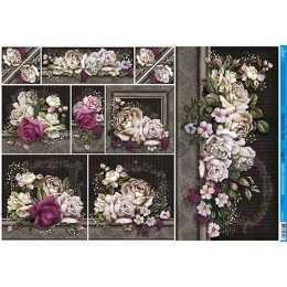 PD891 - Buque de Rosas Coloridas