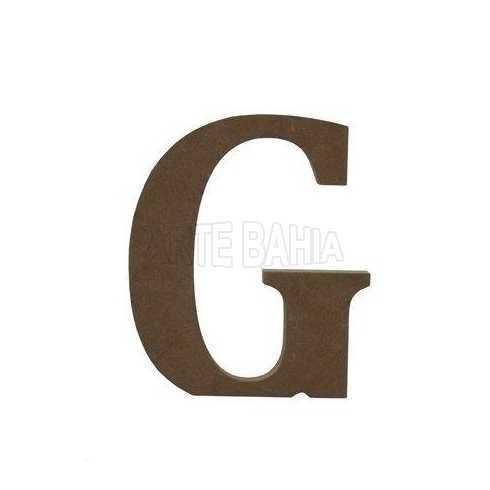 Letra de MDF - G