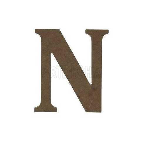 Letra - N