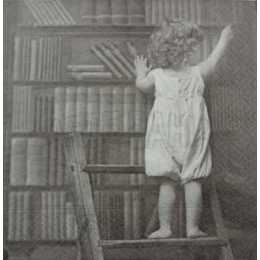 Criança na Biblioteca F1025