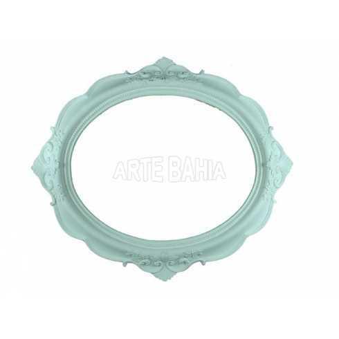 LLM-001 - Moldura sem Espelho - Oval Quadro
