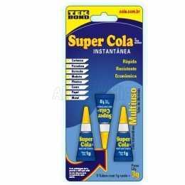Super Cola Instanânea C/ 3 unid. - Tek Bond