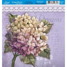 SDSXV051 - Buquê de Flores com Escritos no Fundo