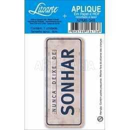 APM8 - 349 - Placa Sonhar