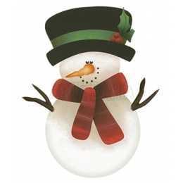 APMN8-005-Natal - Boneco de Neve