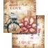 LSCD317 - Bicicleta, Flor e Love