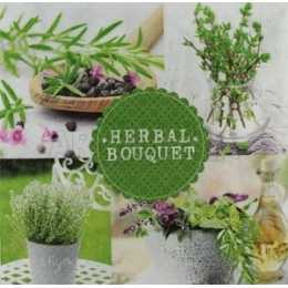 Ervas em Quadros - Herbal Bouquet (454)