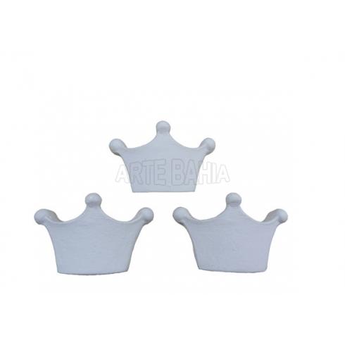 Coroa com 3 Pontas Pq. LLA102 - 3 unid.
