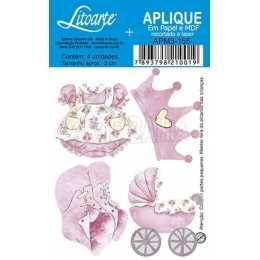 APM3 - 155 - Coisas de Bebê - Menina - 4 unidades