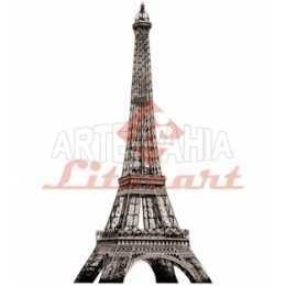 Aplique em Papel e MDF - LMAPC021 - Torre Eiffel
