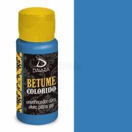 Betume Colorido Azul Caribe - 07 - 60ml Daiara