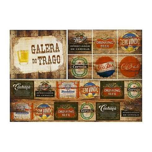 PD064 - Rótulos de Cerveja - Galera do Trago