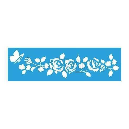 STE300 - Galhos de Rosas e Borboleta