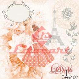 LSCP03 - Moça, Flores e Paris