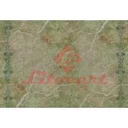 Papel para Decoupage LD841 - Pedra com Arabescos