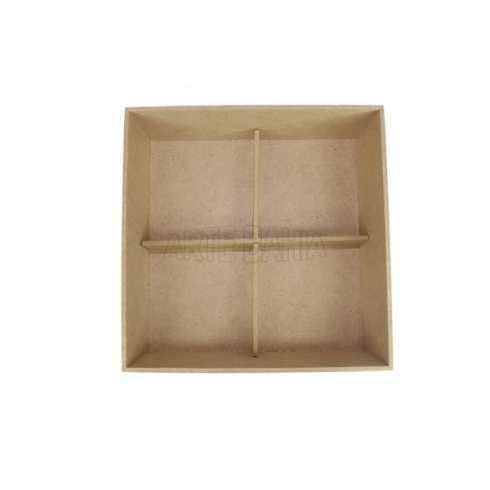L-Caixa de Biju com Bandeja e Porta Anel