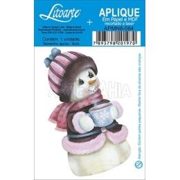 APMN8-084-Natal - Boneco de Neve