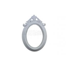 LLA-118 - Moldura sem Espelho - Oval com Arabesco - 9x12,5cm