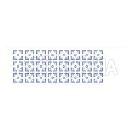 OPA 1081 - Estampa Flor Geométrica - 10x30cm