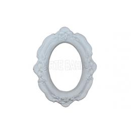 LLA-018-Moldura com Espelho - Oval Pq