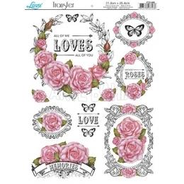 PTG048 - Rosas Cor de Rosa