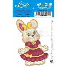APMP8-024 - Páscoa - Coelhinha de Vestido