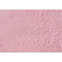 Tecido Atoalhado Rosa Bebê - 35x50cm