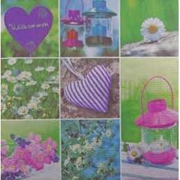 Quadros de Flores,  Lamparinas e Corações (74)