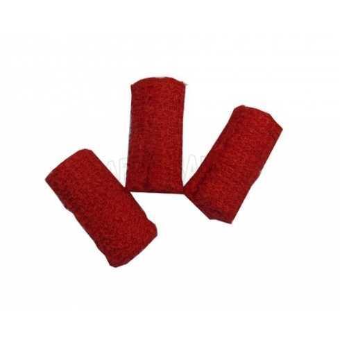 Rolinhos Atoalhados - Vermelho