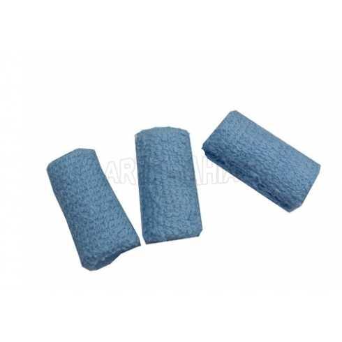 Rolinhos Atoalhados - Azul Claro