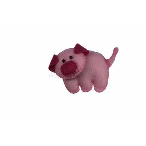 Bicho - Porco de Feltro