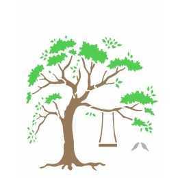 Stencil de Acetato OPA 20X25cm - OPA 2260 - Árvore