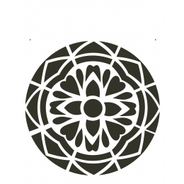 Stencil de Acetato OPA 20x25cm - OPA 2280 - Mandala