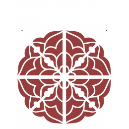Stencil de Acetato OPA 20X25cm - OPA 2284 - Mandala