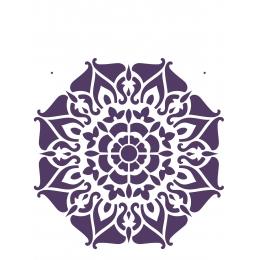 Stencil de Acetato OPA 20X25cm - OPA 2282 - Mandala