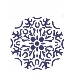 Stencil de Acetato OPA 20X25cm - OPA 2281 - Mandala