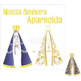 OPA 2292 - Nossa Senhora Aparecida - 30,5x30,5cm