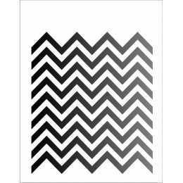OPA 1244 - Estamparia Chevron - 20x25cm