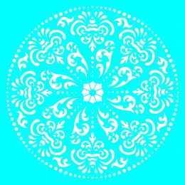 LSQ063 - Mandala - 20x20cm