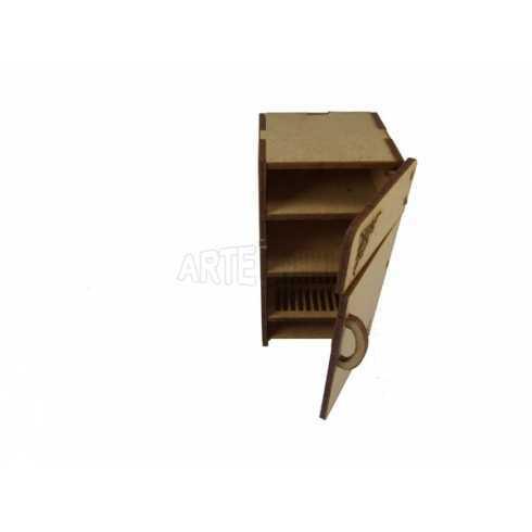 Geladeira - 5,5x5,5x12cm  - 2 portas